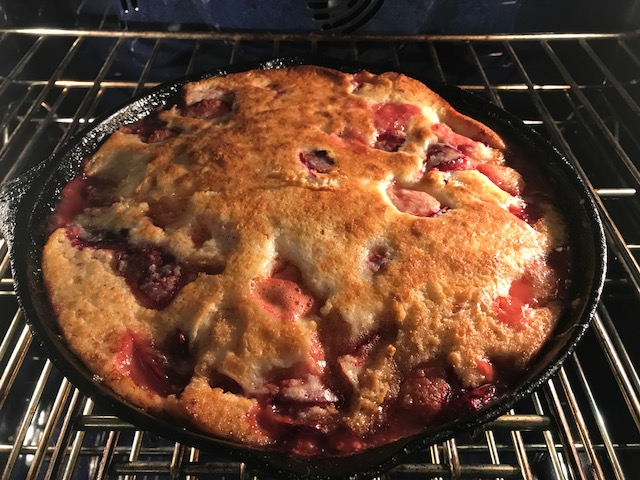 Two Plum Cobbler