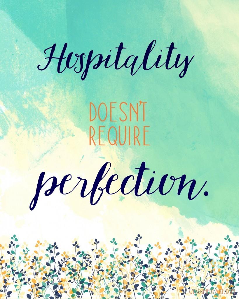 Imperfect hospitality