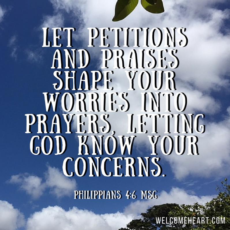 Praise vs. Worry