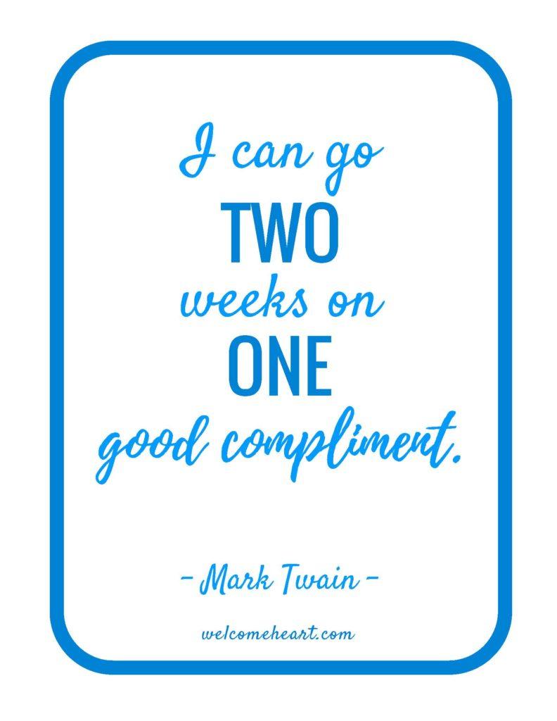 Mark Twain Printable