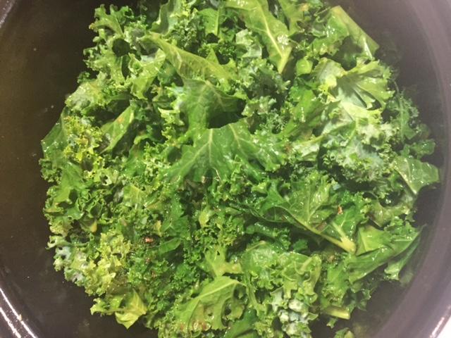 Feast on Friday: One Pot Skillet Chicken Caesar Kale Salad