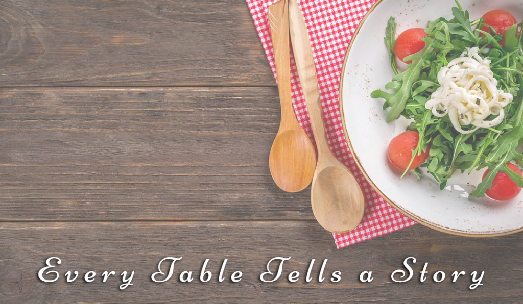 Every Table Tells a Story: Tables and Knees and Folks Down the Road