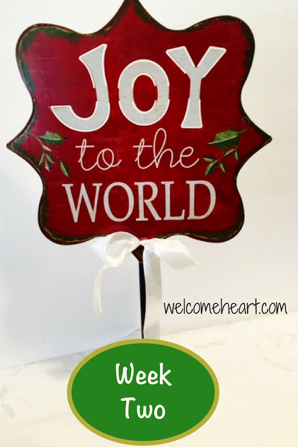 A Joy-filled Woman, Part II: Birthday Party for Jesus
