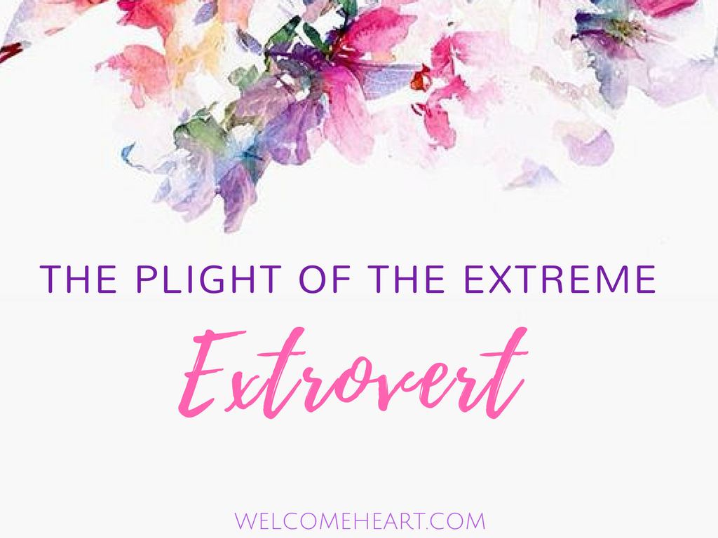 The Plight of the Extreme Extrovert (For Those Who Suffer) plus, Lori's Orange Scones!